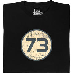 Camiseta 73 de Sheldon