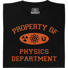 Property of Physics Department T-Shirt