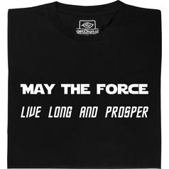 May the Force live long and prosper