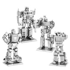 Kits para fabricar Transformers Metal Earth en 3D