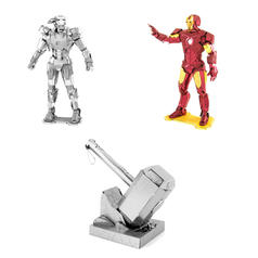 Kits para fabricar Avengers Metal Earth en 3D