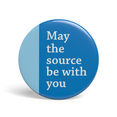 Geek Pin May The Source Be With You