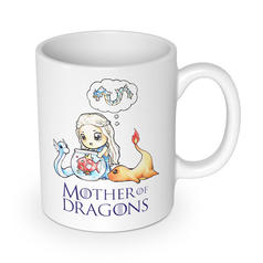 Taza Mother of Dragons