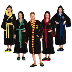Albornoces Harry Potter estilo Hogwarts