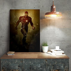 PosterPlate Marvel Iron Man Metal Poster
