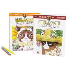 Grumpy Cat Colouring Book