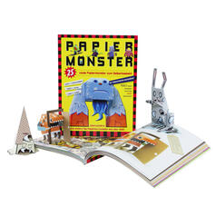 Paper Monster Crafting Book