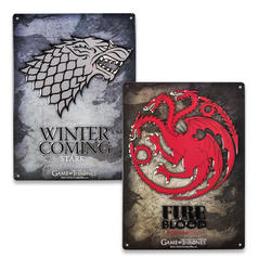Game of Thrones Tin Signs