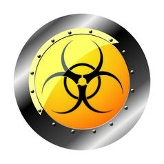 Geek Sticker Biohazard