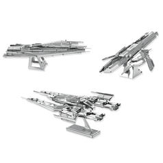 Kit para construir naves espaciales Metal Earth Mass Effect en 3D