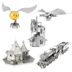 Kit de construccion Metal Earth 3D de tematica Harry Potter