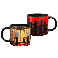 Taza Star Trek teletransportadora sensible al calor
