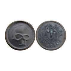 Conan the Barbarian Coin - Black Skull of Crom
