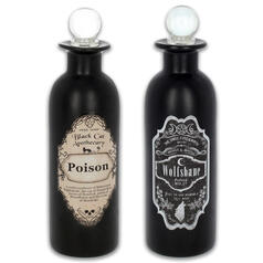 Botellas de pocion decorativas