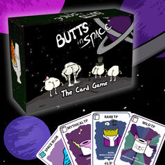 Butts in Space - The Card Game
