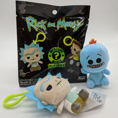 Funko Rick and Morty Mystery Minis Plush Keychains