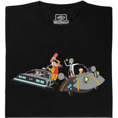 Rick vs Doc Brown T-Shirt