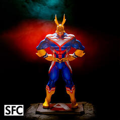 Figura coleccionable de la serie Metal Foils de My Hero Academia: All Might