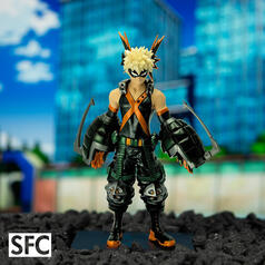 My Hero Academia Metal Foil Collectible Figure