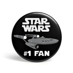 Geek Pin Star Wars Fan