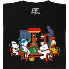 Dogs Playing Poker T-Shirt