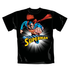 Camiseta Superman con sol brillante