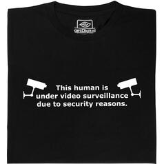 Video vigilancia T-Shirt