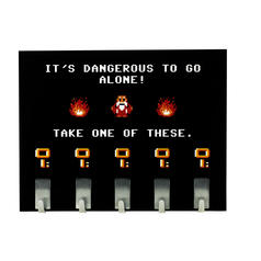Colgador para llaves It's dangerous to go alone