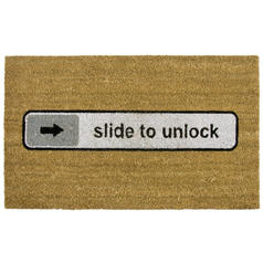 Felpudo Slide to unlock