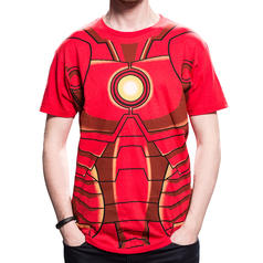 Camiseta Chestplate de Iron Man