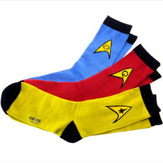 Set con 3 pares de calcetines de Star Trek